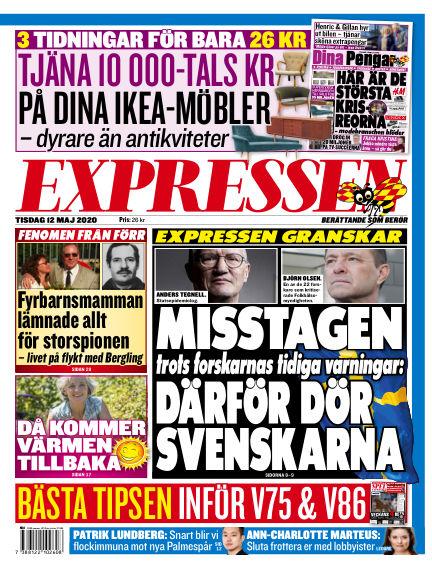 Expressen May 12, 2020 00:00