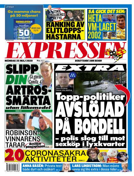 Expressen May 25, 2020 00:00