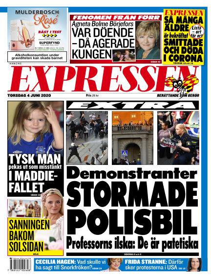 Expressen June 04, 2020 00:00