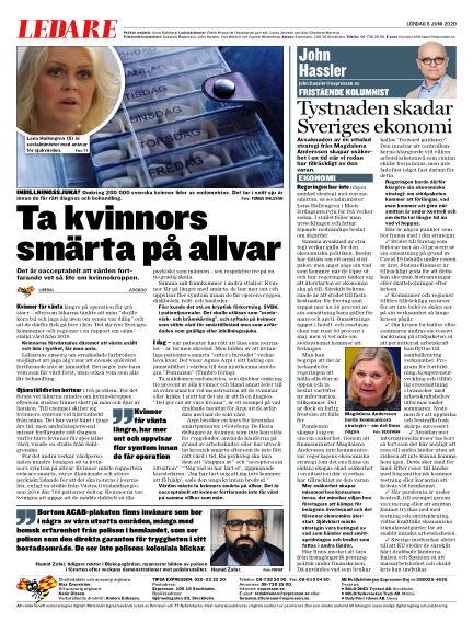 Expressen June 06, 2020 00:00