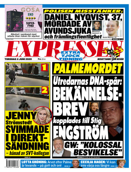 Expressen June 11, 2020 00:00