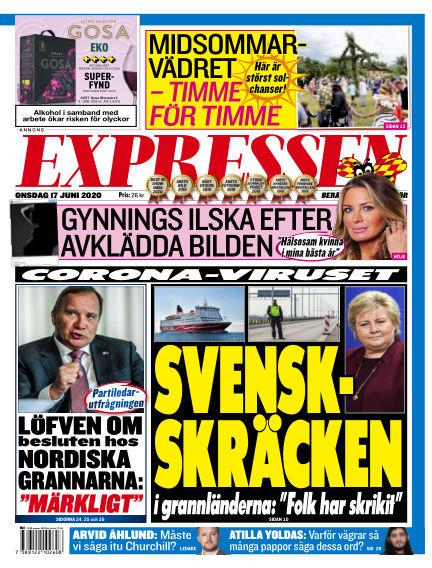 Expressen June 17, 2020 00:00