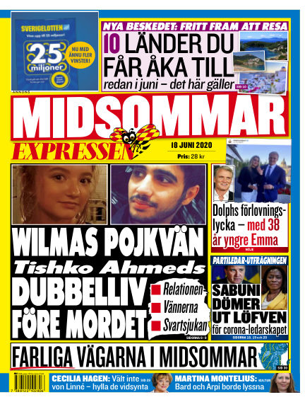 Expressen June 18, 2020 00:00