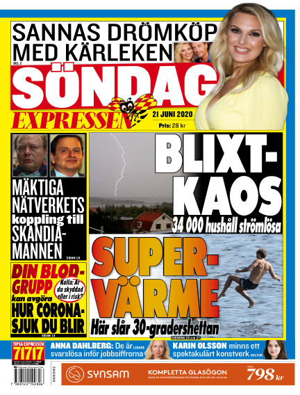 Expressen June 21, 2020 00:00