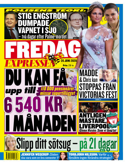 Expressen June 26, 2020 00:00