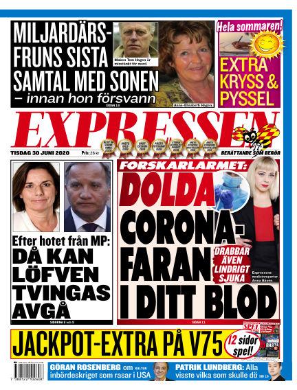 Expressen June 30, 2020 00:00