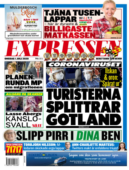Expressen July 01, 2020 00:00