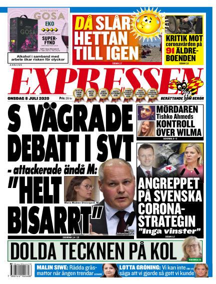 Expressen July 08, 2020 00:00