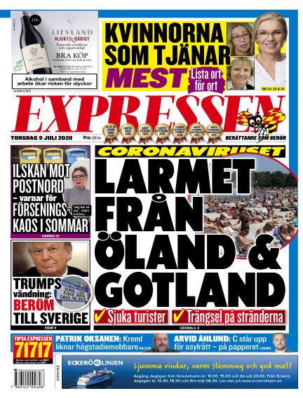 Expressen July 09, 2020 00:00