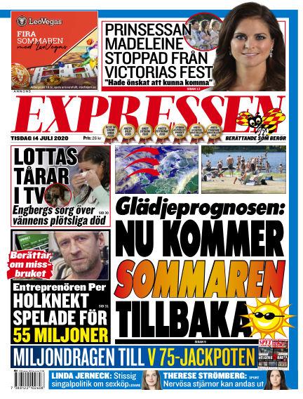 Expressen July 14, 2020 00:00
