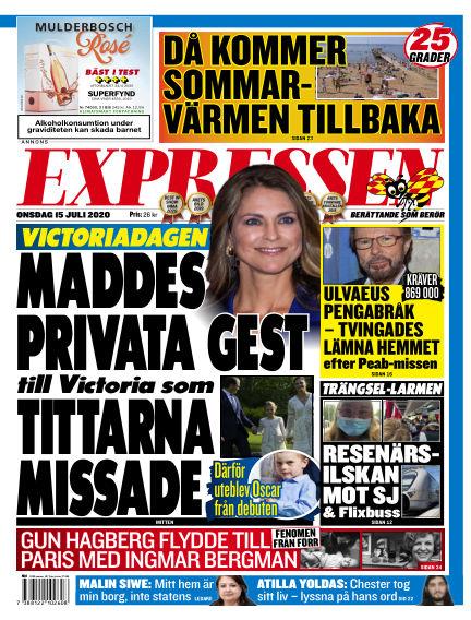 Expressen July 15, 2020 00:00