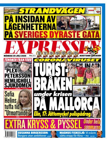 Expressen July 20, 2020 00:00