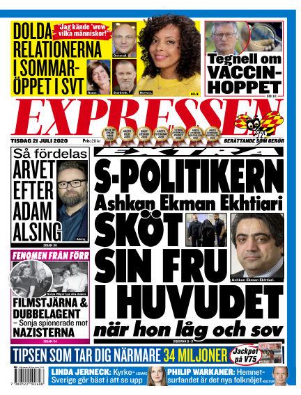 Expressen July 21, 2020 00:00