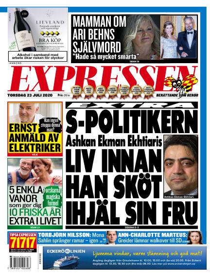 Expressen July 23, 2020 00:00