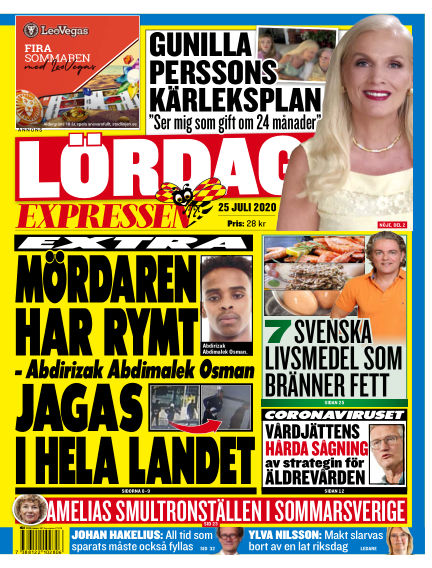 Expressen July 25, 2020 00:00