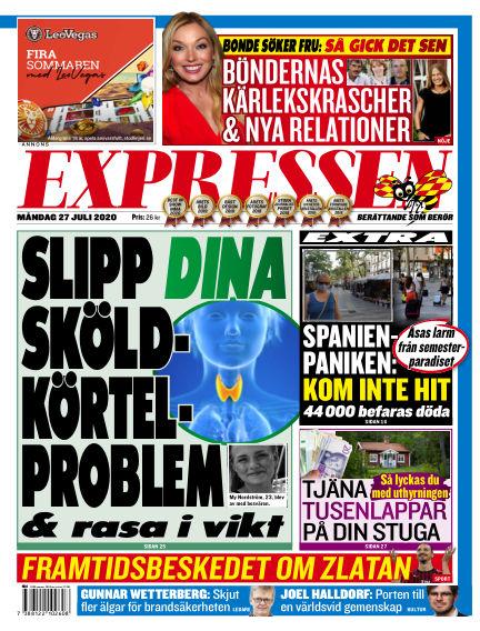 Expressen July 27, 2020 00:00