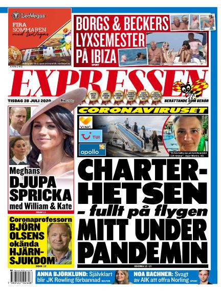 Expressen July 28, 2020 00:00