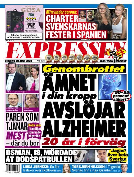 Expressen July 29, 2020 00:00