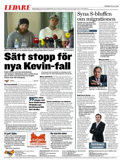 Expressen July 30, 2020 00:00