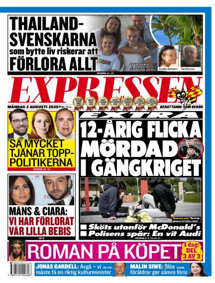 Expressen August 03, 2020 00:00