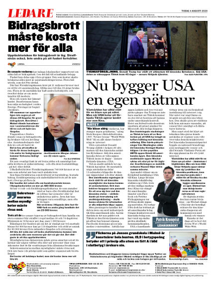 Expressen August 04, 2020 00:00