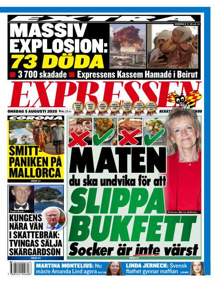 Expressen August 05, 2020 00:00