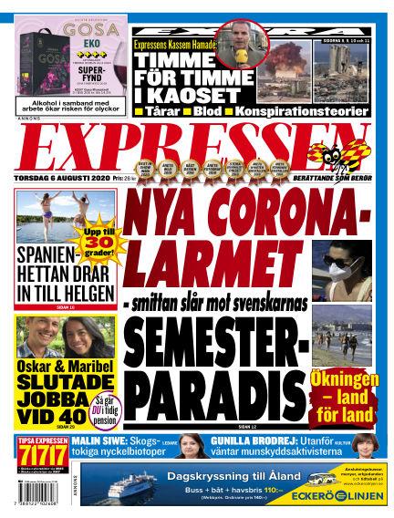Expressen August 06, 2020 00:00