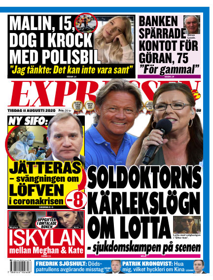 Expressen August 11, 2020 00:00