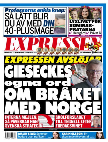 Expressen August 12, 2020 00:00
