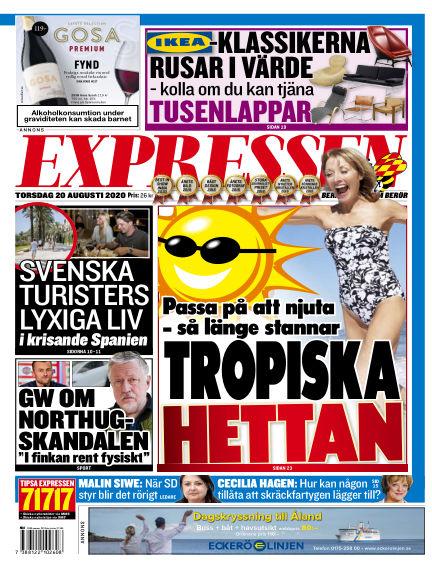 Expressen August 20, 2020 00:00