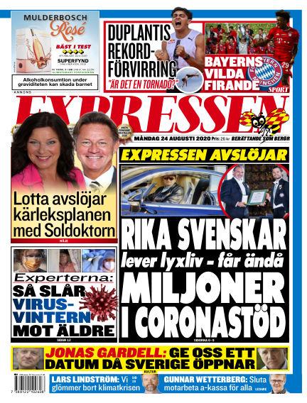 Expressen August 24, 2020 00:00