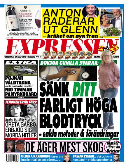 Expressen August 26, 2020 00:00