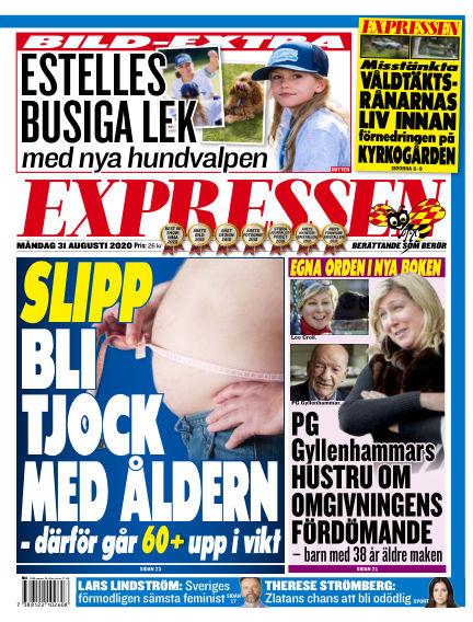 Expressen August 31, 2020 00:00
