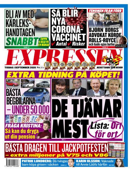 Expressen September 01, 2020 00:00