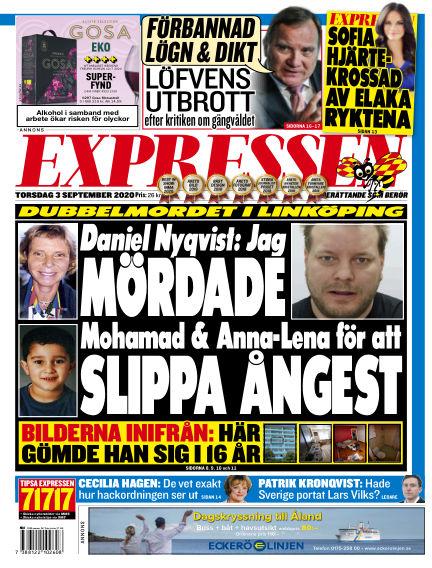Expressen September 03, 2020 00:00