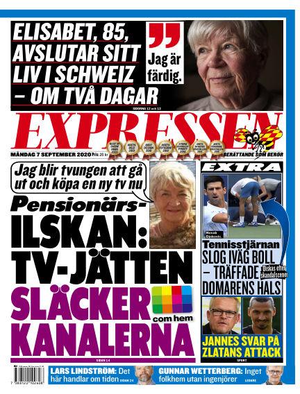 Expressen September 07, 2020 00:00