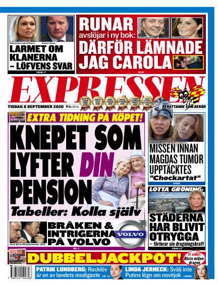 Expressen September 08, 2020 00:00