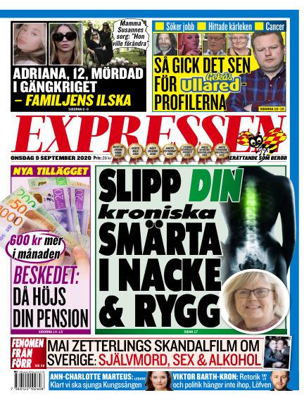 Expressen September 09, 2020 00:00