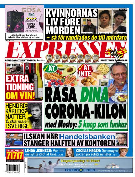 Expressen September 17, 2020 00:00