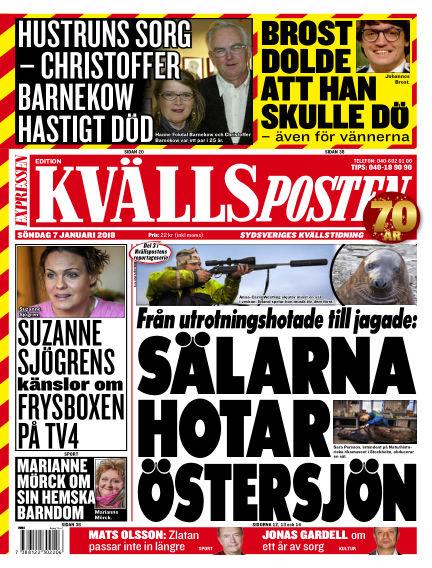 Kvällsposten January 07, 2018 00:00