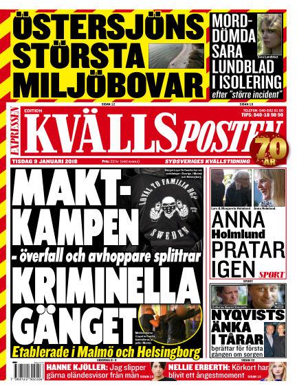 Kvällsposten January 09, 2018 00:00