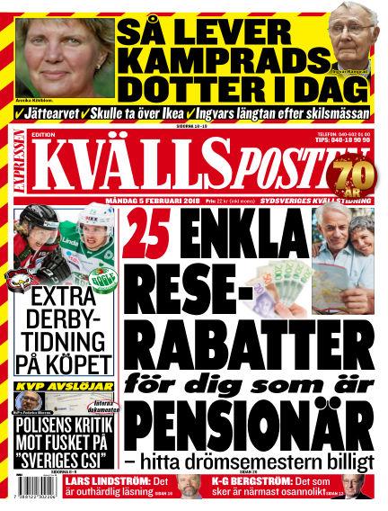 Kvällsposten February 05, 2018 00:00