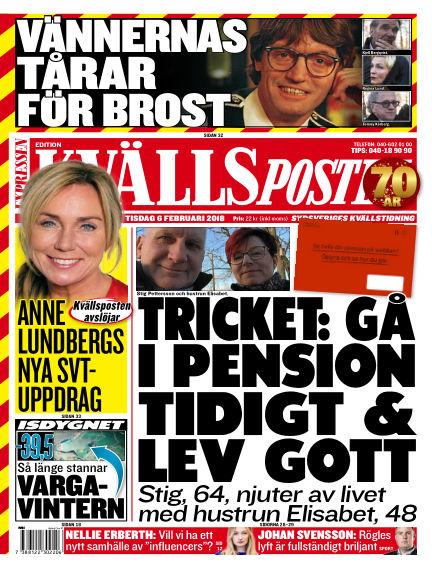Kvällsposten February 06, 2018 00:00