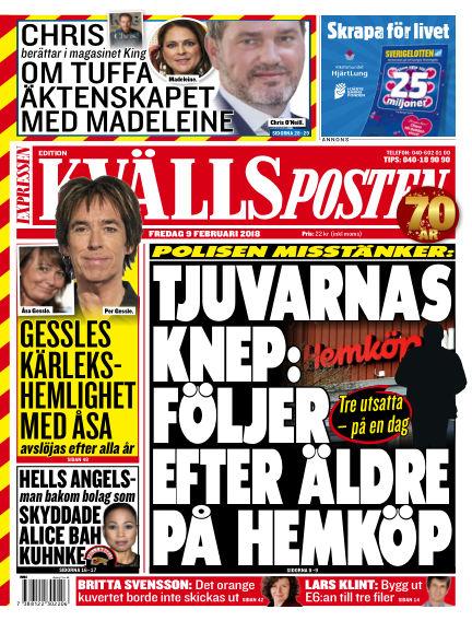 Kvällsposten February 09, 2018 00:00