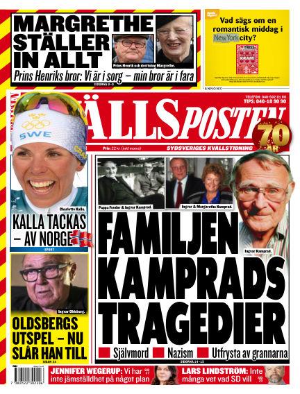 Kvällsposten February 12, 2018 00:00