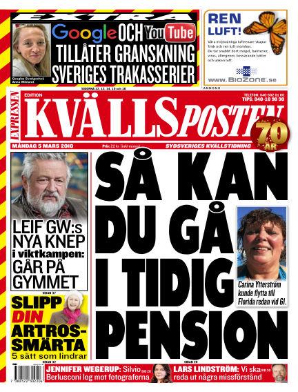 Kvällsposten March 05, 2018 00:00