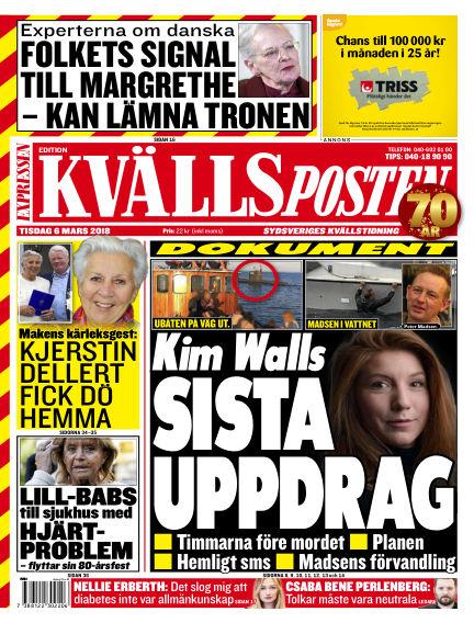 Kvällsposten March 06, 2018 00:00