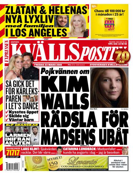 Kvällsposten March 23, 2018 00:00
