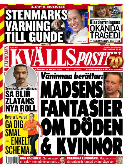 Kvällsposten March 24, 2018 00:00