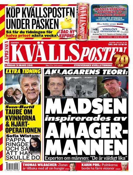 Kvällsposten March 31, 2018 00:00